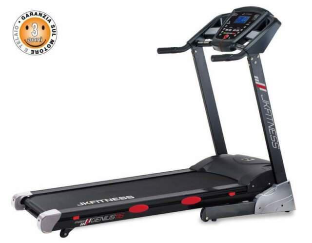 Tapis roulant genius jk 116 richiudibile jk fitness