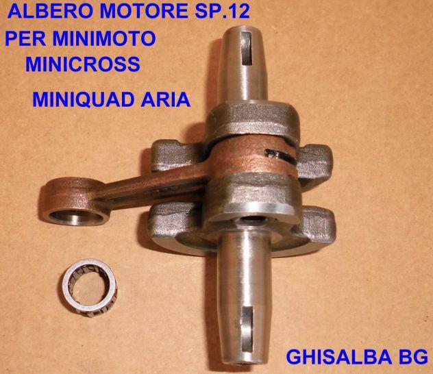 Albero motore standard sp. 12 minimoto minicross miniquad
