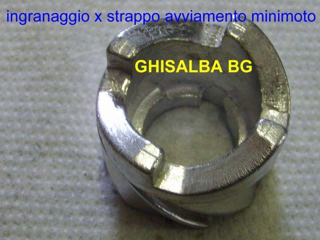 Avviamento accensione pull start strappo in alluminio metallo MINIMOTO MINICROSS QUAD raffreddati ad aria