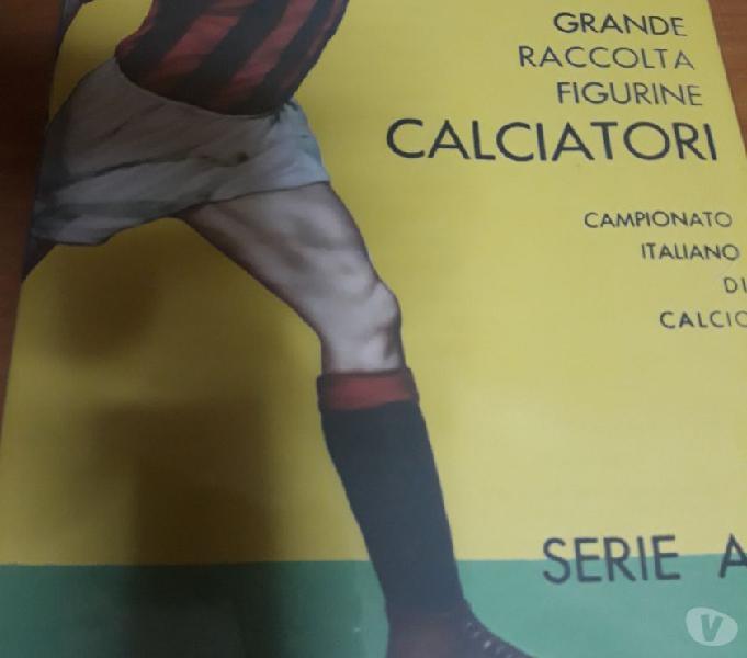 Album calciatori panini 1961-62 sigillato + set figurine