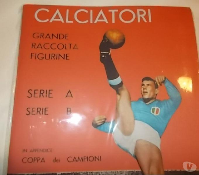 Album calciatori panini 1963-64 sigillato + set figurine