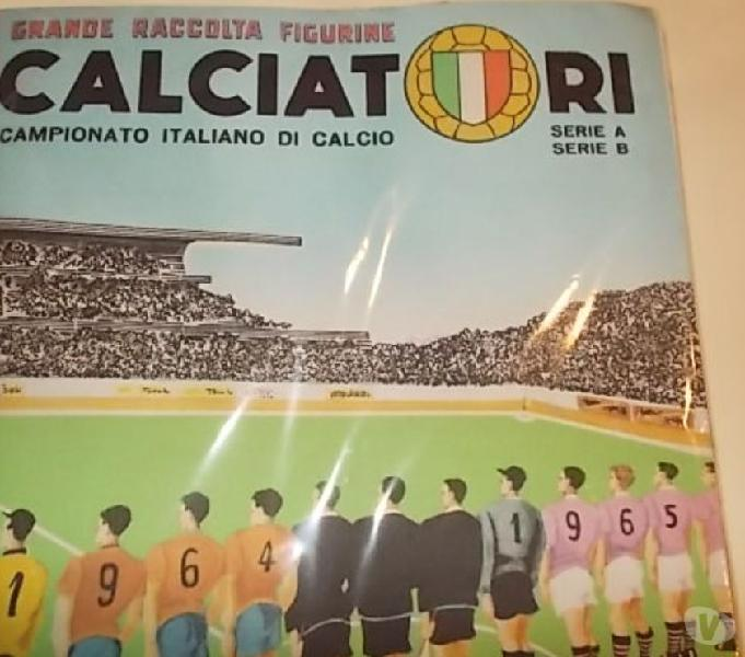 Album calciatori panini 1964-65 sigillato + set figurine