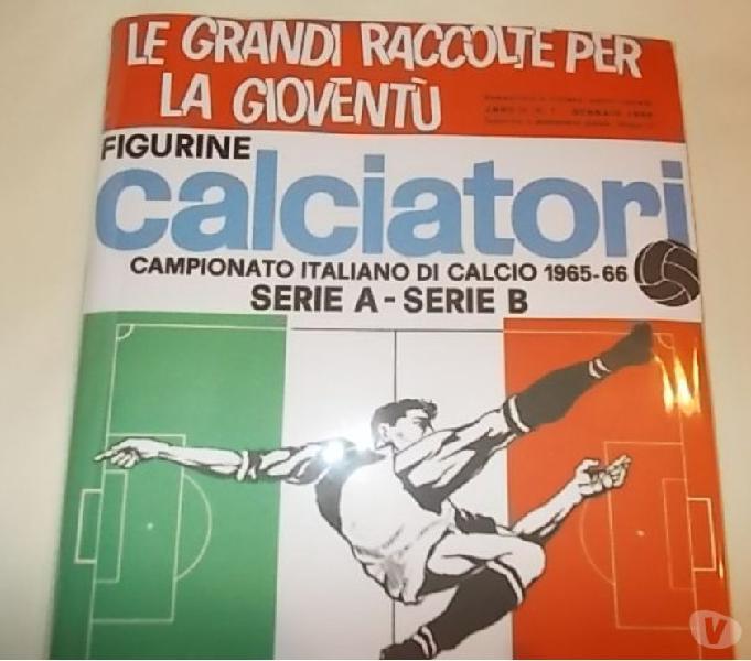 Album calciatori panini 1965-66 sigillato + set figurine