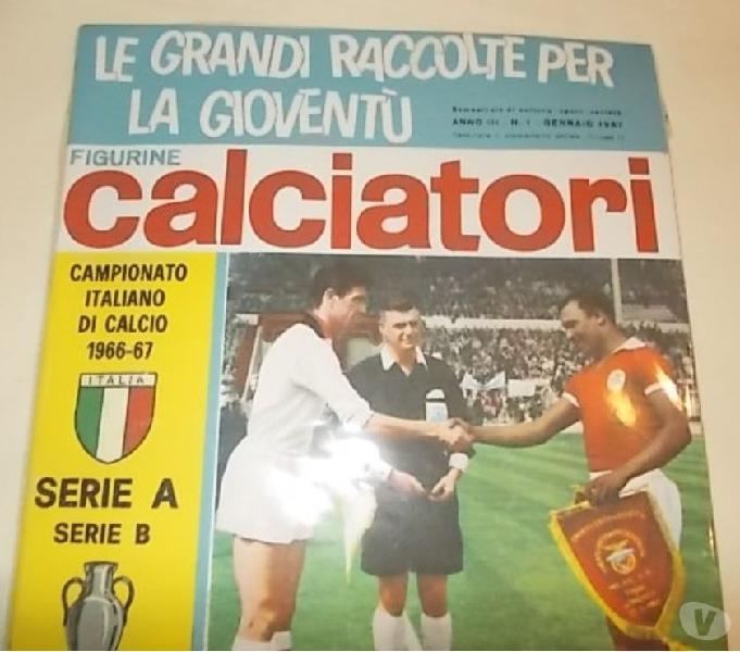 Album calciatori panini 1966-67 sigillato + set figurine
