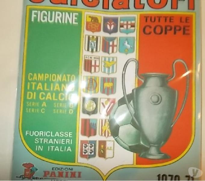 Album calciatori panini 1970-71 sigillato + set figurine