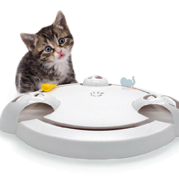 Gioco per gatti elettronico con 4 velocita