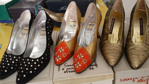 Vendo scarpe usate una volta