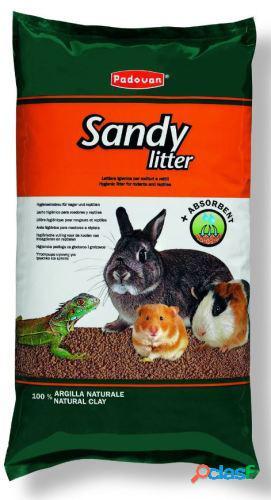Padovan sandy litter kg.4 (lettiera per roditori in argilla)