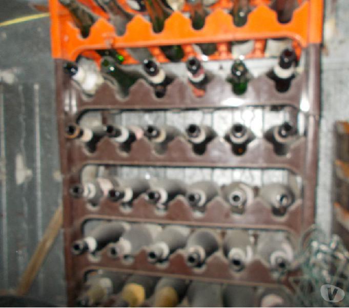 Portabottiglie sovrapponibili in plastica da 6 bottiglie
