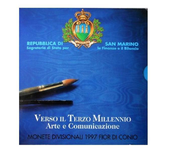 San marino-monete divisionali fdc-anno1997