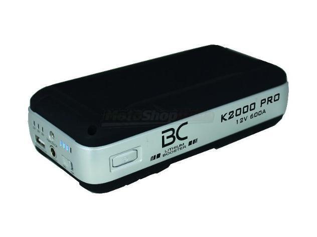 Avviatore e powerbank bc booster k2000 pro - 12v 600a