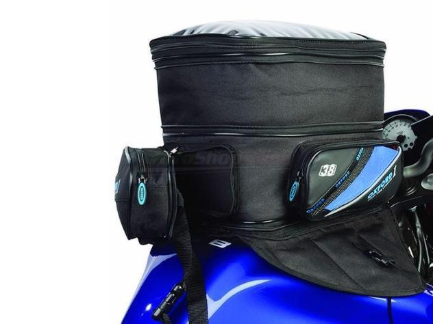 Borsa da serbatoio expander tankbag oxford con magneti