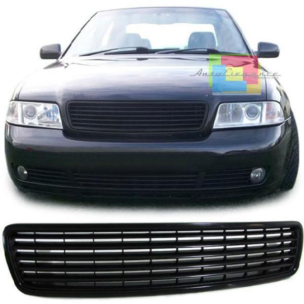 Griglia anteriore audi a4 b5 1994-2000 calandra nera - senza