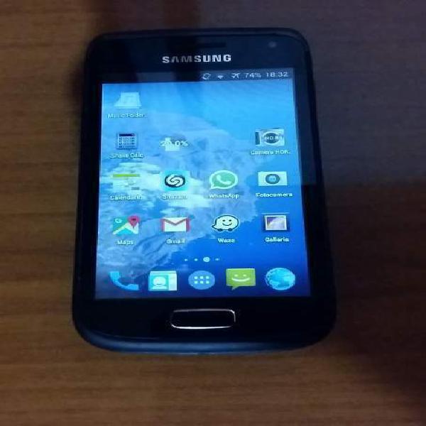 Samsung galaxy w con 3 batterie