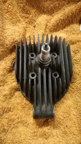 Testa cilindro motore malanca 3 marce anni 50 / 70
