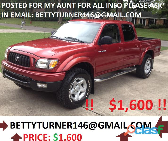 ❗URGENT!?2002 Toyota Tacoma for sale! Price: ?1,600
