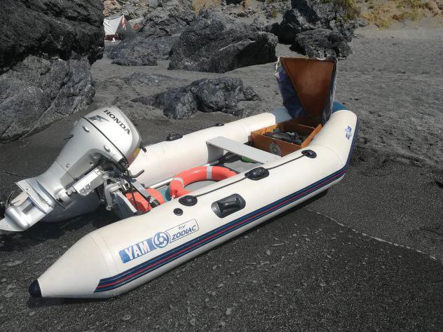 Gommone yam 340 (3,40 mt) + motore honda 10 cv 4t
