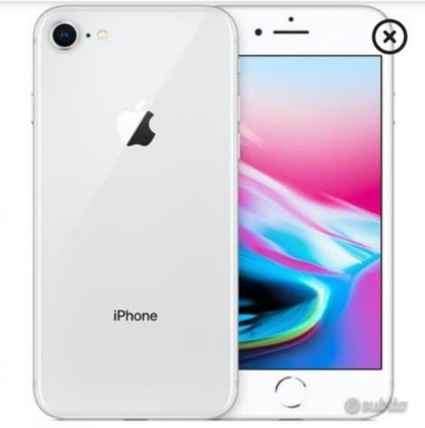 Iphone 8 grigio 128gb