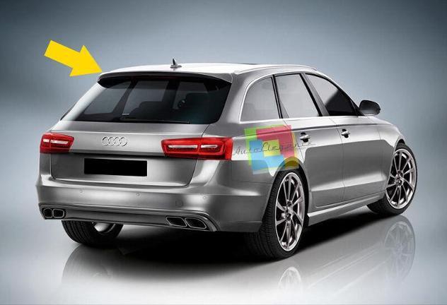 Audi a6 4g c7 2011+ spoiler sul lunotto posteriore look s6