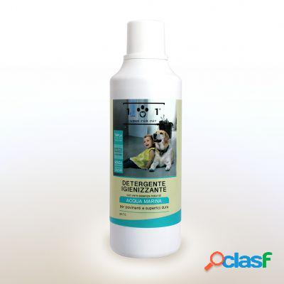 Love for pet detergente igienizzante pavimenti acqua marina 1000 ml