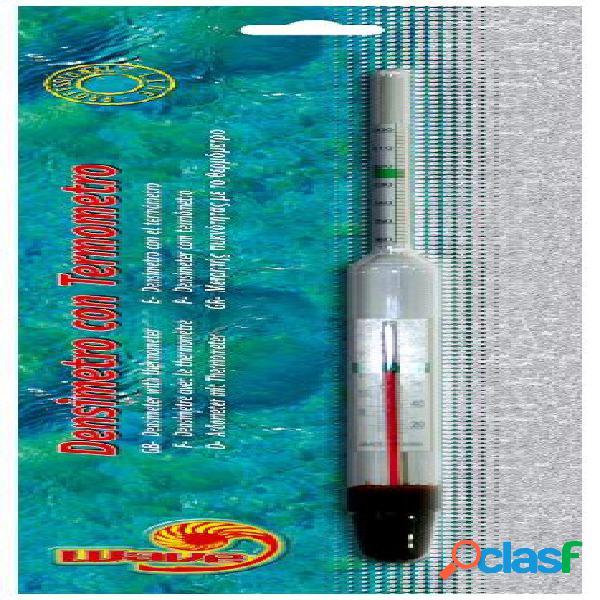 Croci wave densimetro con termometro per acquari