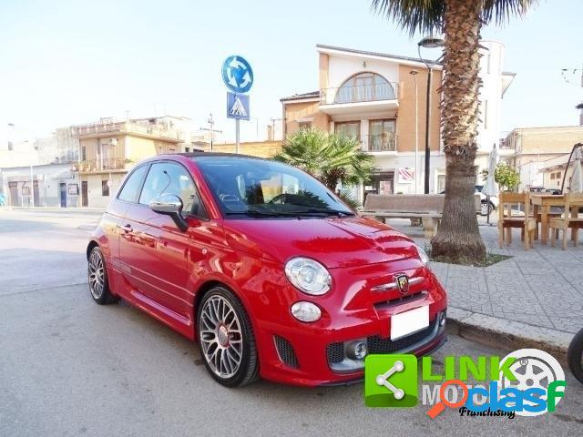 Abarth 595 cabrio benzina in vendita a stornara (foggia)