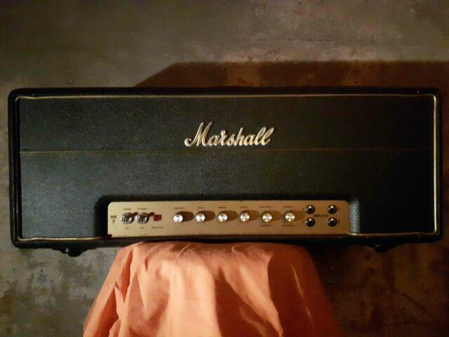 Amplificatore testata marshall mkii super lead 100w