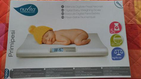 Bilancia digitale neonati con metro