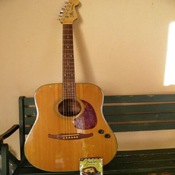 Chitarra acustica vintage fender redondo1991
