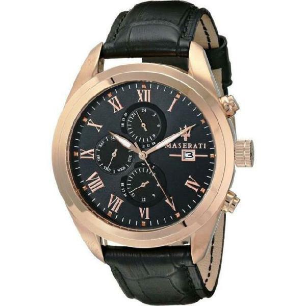 Cronografo maserati elegante uomo traguardo r8871612002