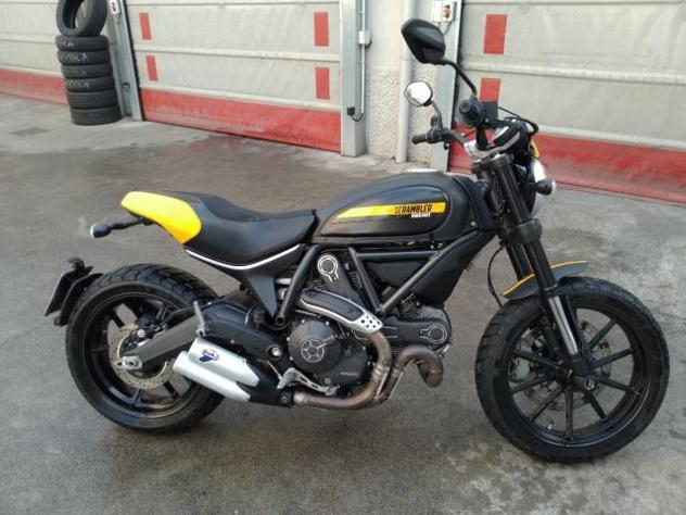Ducati scrambler full throttle 800 km 7000