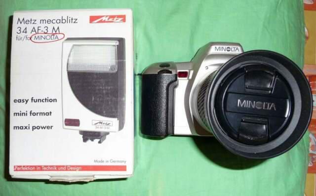 Minolta dinax404si+28/80+metz34af 3m