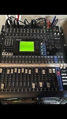 Mixer digitale yamaha 01v96 piu adat,moduli e case