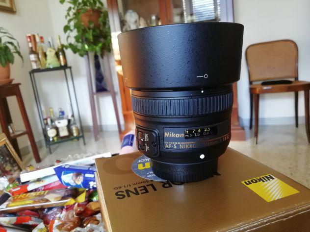 Nikon 50 mm 1.8g + filtro u.v.