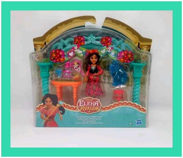 Playset celebrazione mini bambole disney elena di avalor
