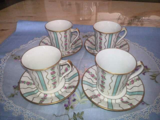 Servizio 4 tazze da tè