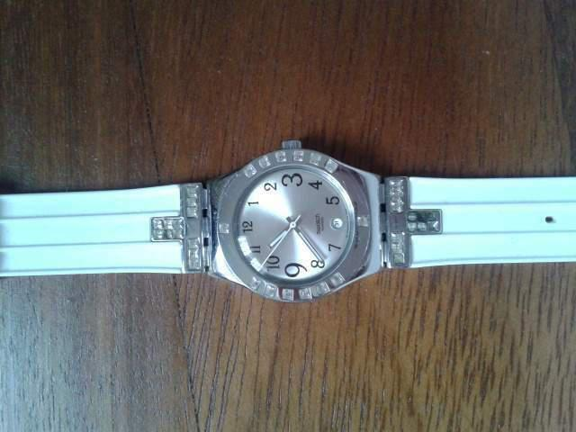 Swatch irony fancy me acciaio white donna lady