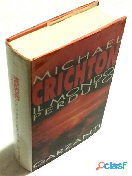 Il mondo perduto di michael crichton 2°ed.garzanti, giugno 1996 nuovo