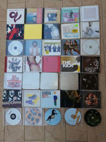 35 cd originali musica moderna e 120 cd musica classica