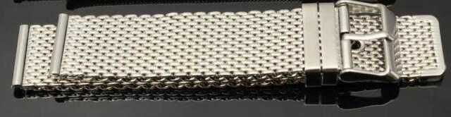 Bracciale acciaio mash maglia milano