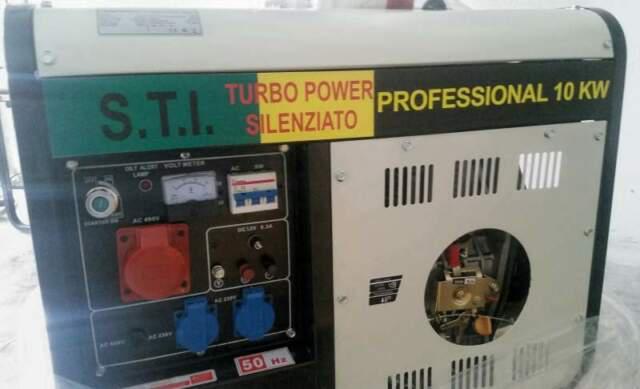 Gruppo elettrogeno diesel generatore 10 kw