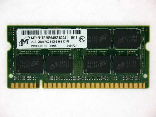 2 gb ram per notebook ddr2 800 memoria so-dimm