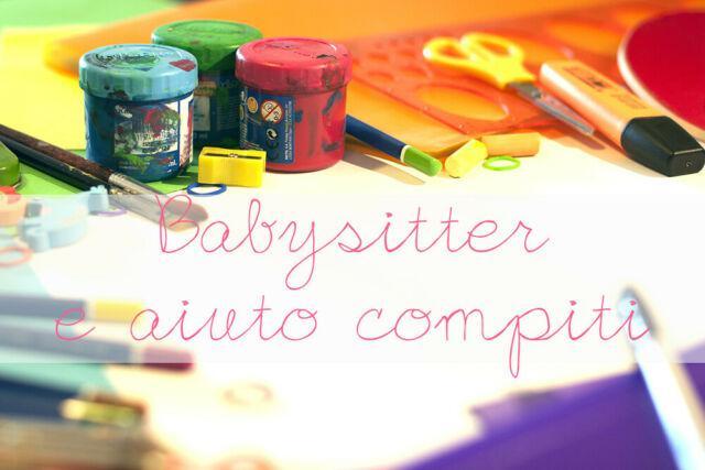Aiuto compiti e babysitter