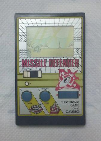 Console portatile vintage casio cg-83 - anno 1984 -
