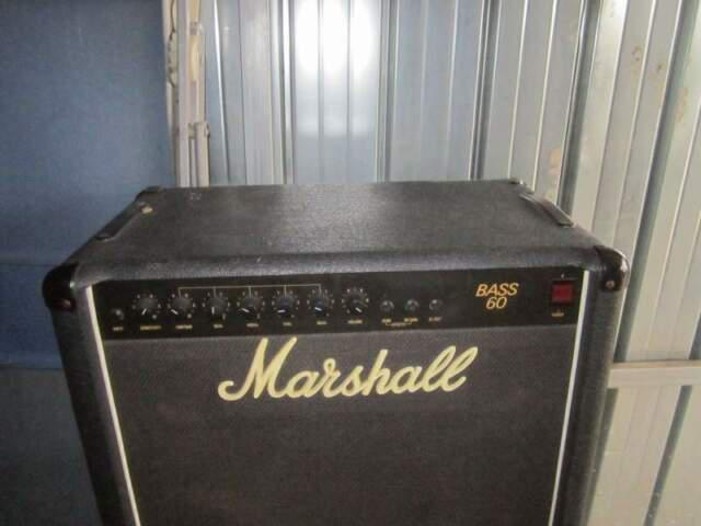 Cassa amplificata marshall bass 60 combo