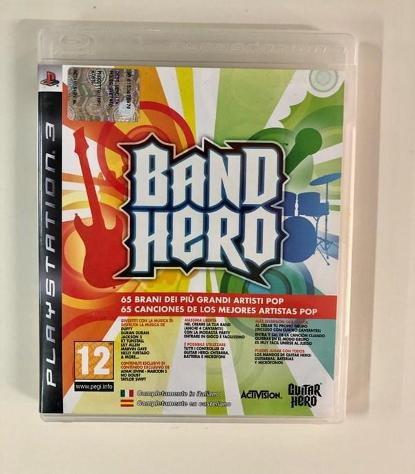 Gioco play station 3 band hero