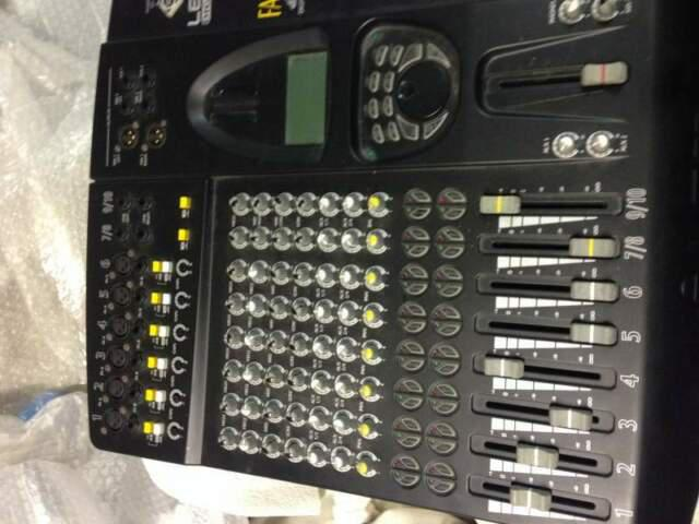 Mixer digital lem falcon++microfono prof schure beta 87c