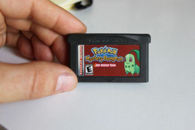 Pokémon mystery dungeon red rescue team nintendo gameboy