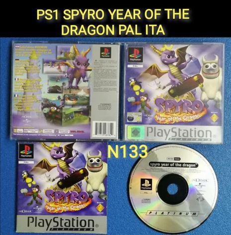 Ps1 spyro year of the dragon pal ita