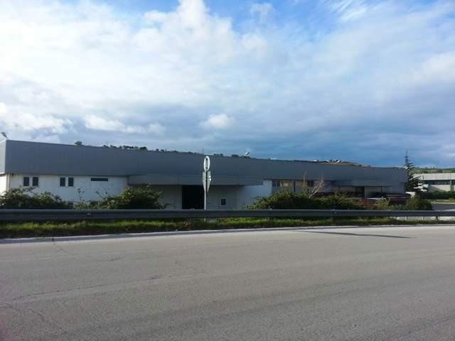 Affittasi capannone commerciale zona industriale termoli